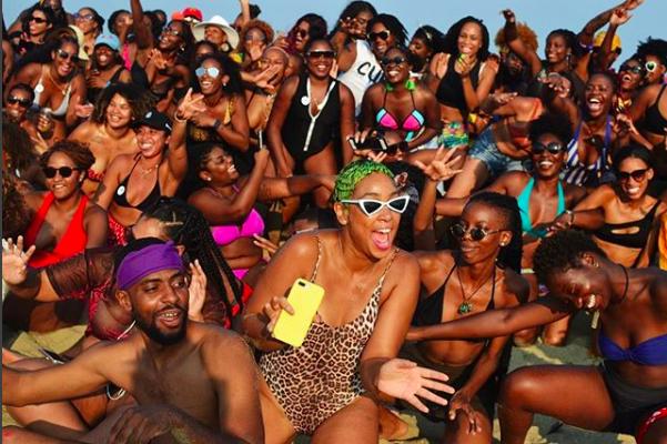 Beaching While Black: Black Girl Beach Day