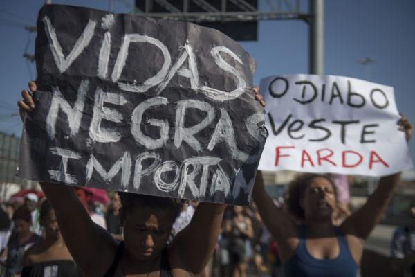 Black Teenager Killed In Brazil Sparks 'Black Lives Matter' Protests