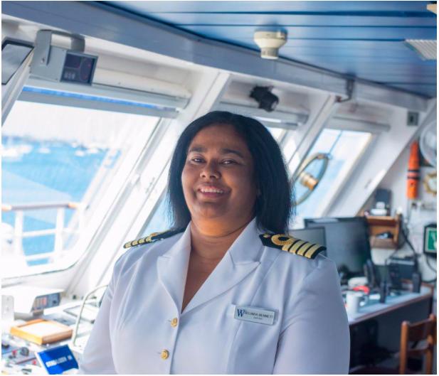 Belinda Bennett Is The First Black Woman Cruise Ship Captain