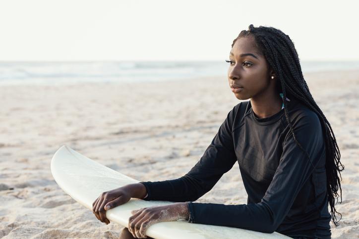 Black Girls Surf: The Organization Helping Black Women Surfers Go Pro