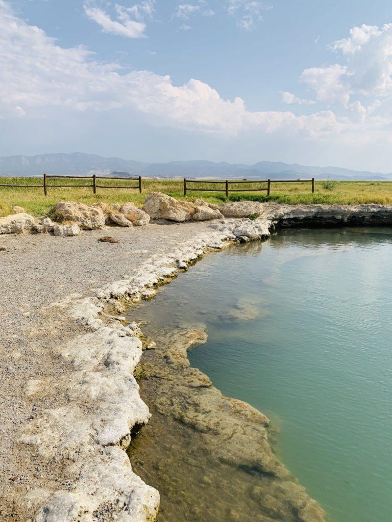 Meadows hot springs on my Trip to Utah